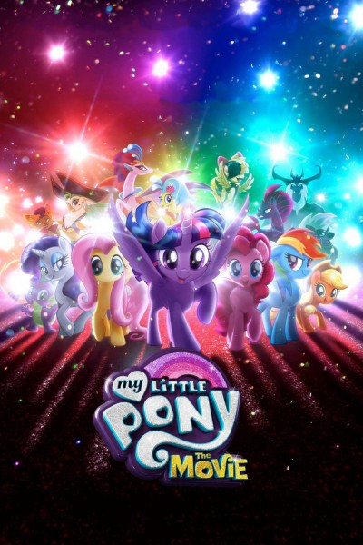 Caratula, cartel, poster o portada de My Little Pony: La Película