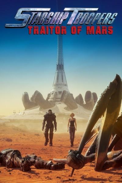 Caratula, cartel, poster o portada de Starship Troopers: Traidores de Marte