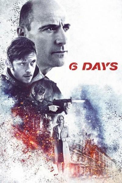 Caratula, cartel, poster o portada de 6 días