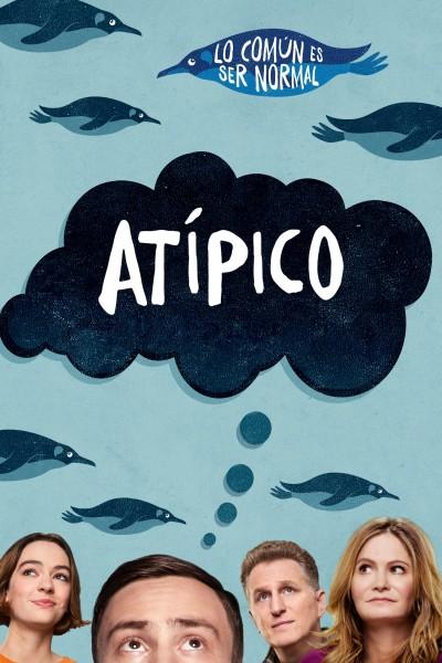 Caratula, cartel, poster o portada de Atípico