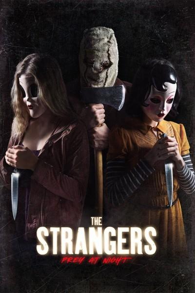 Caratula, cartel, poster o portada de Los extraños: Cacería nocturna