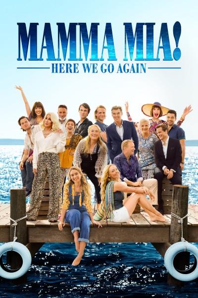 Caratula, cartel, poster o portada de Mamma Mia: Una y otra vez
