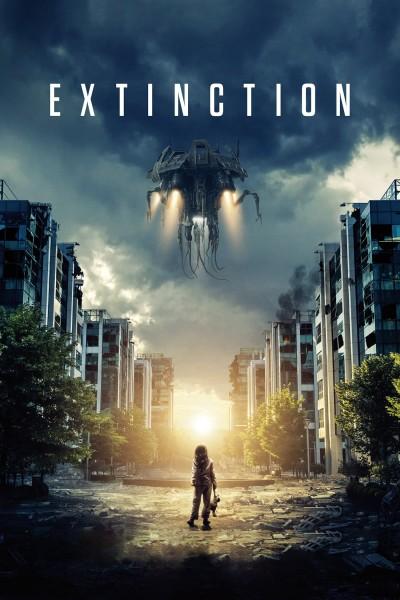 Caratula, cartel, poster o portada de Extinción