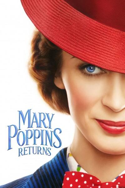 Caratula, cartel, poster o portada de El regreso de Mary Poppins