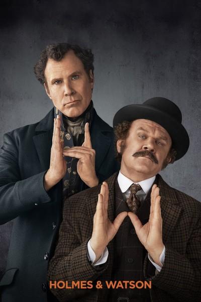 Caratula, cartel, poster o portada de Holmes & Watson