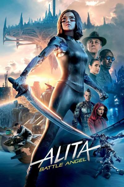 Caratula, cartel, poster o portada de Alita: Ángel de combate