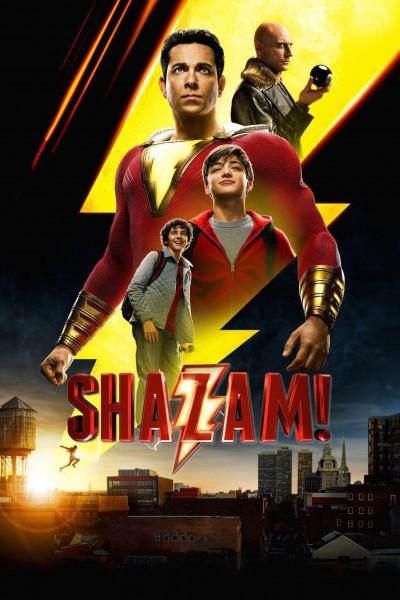 Caratula, cartel, poster o portada de ¡Shazam!