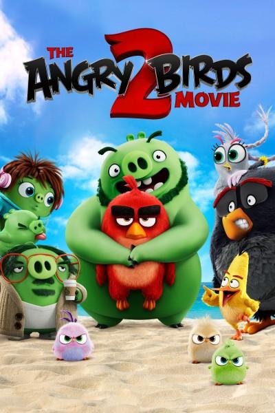 Caratula, cartel, poster o portada de Angry Birds 2: La película