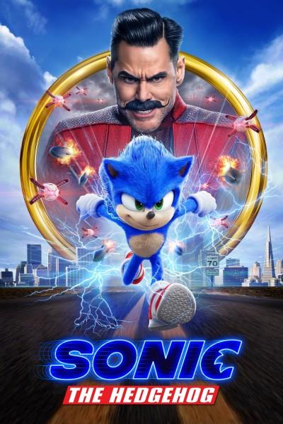 Caratula, cartel, poster o portada de Sonic, la película