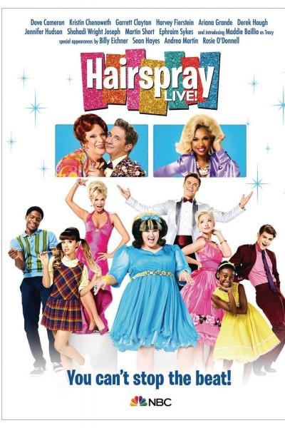 Caratula, cartel, poster o portada de Hairspray Live!