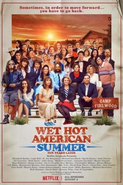 Caratula, cartel, poster o portada de Wet Hot American Summer: 10 años después