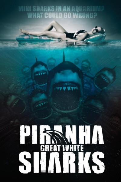 Caratula, cartel, poster o portada de Piranha Sharks