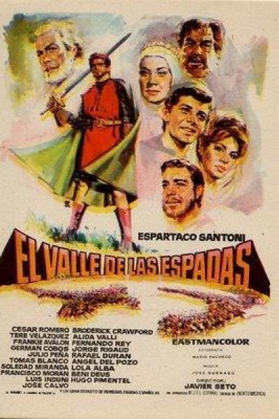 Caratula, cartel, poster o portada de El valle de las espadas