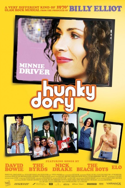 Caratula, cartel, poster o portada de Hunky Dory