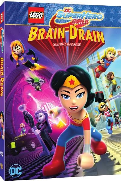 Caratula, cartel, poster o portada de LEGO DC Superhero Girls: Trampa Mental