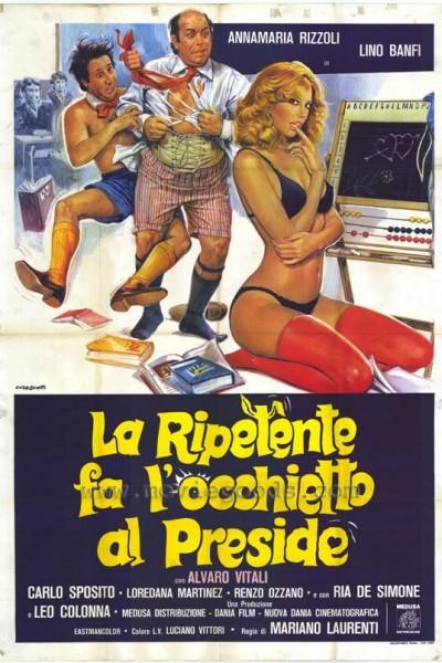 Caratula, cartel, poster o portada de La estudiante, el rector y Jaimito el playboy