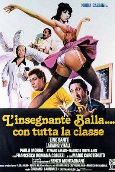 Caratula, cartel, poster o portada de La profesora baila con toda la clase