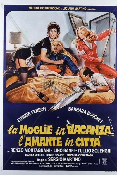 Caratula, cartel, poster o portada de La mujer de vacaciones, la amante en la ciudad