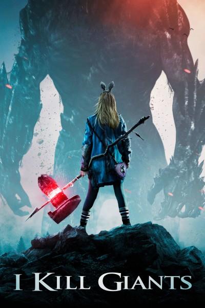 Caratula, cartel, poster o portada de I Kill Giants