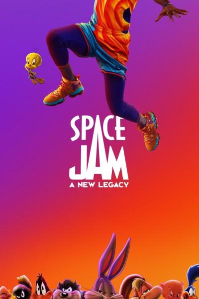 Caratula, cartel, poster o portada de Space Jam: Nuevas leyendas