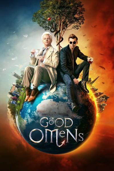 Caratula, cartel, poster o portada de Good Omens