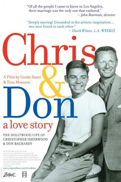 Caratula, cartel, poster o portada de Chris & Don. Una historia de amor