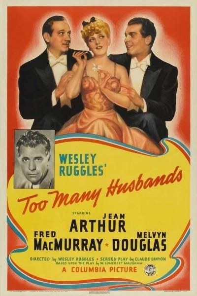 Caratula, cartel, poster o portada de Demasiados maridos