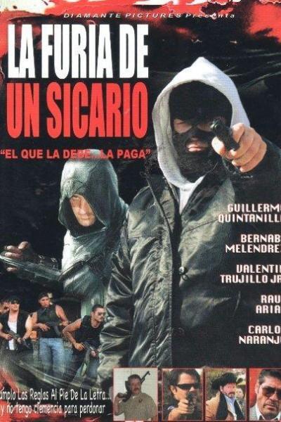 Caratula, cartel, poster o portada de La furia de un sicario