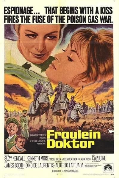 Caratula, cartel, poster o portada de Fräulein Doktor