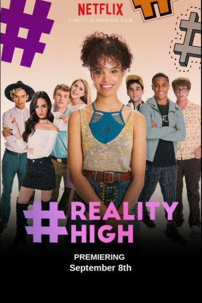 Caratula, cartel, poster o portada de #realityhigh