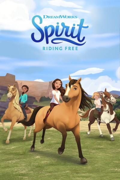 Caratula, cartel, poster o portada de Spirit Riding Free