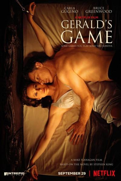 Caratula, cartel, poster o portada de El juego de Gerald