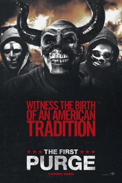 Caratula, cartel, poster o portada de La primera purga: La noche de las bestias