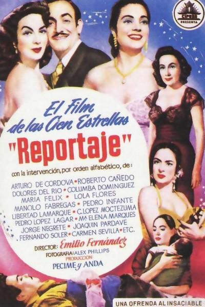 Caratula, cartel, poster o portada de Reportaje