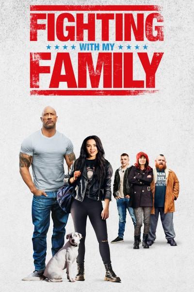 Caratula, cartel, poster o portada de Fighting With My Family
