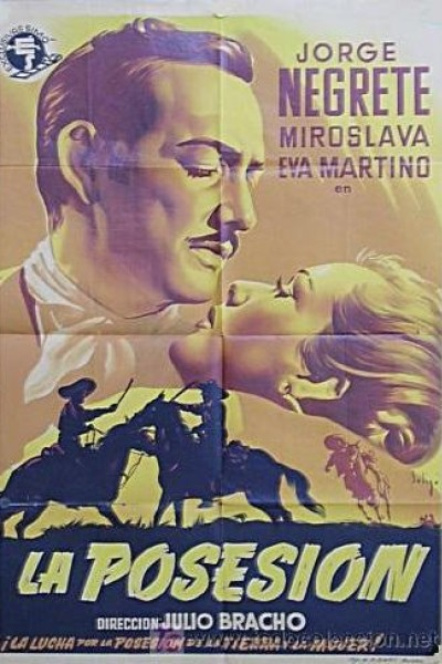 Caratula, cartel, poster o portada de La posesión