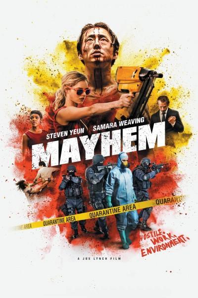 Caratula, cartel, poster o portada de Mayhem