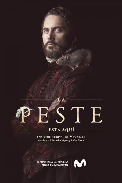 Caratula, cartel, poster o portada de La peste