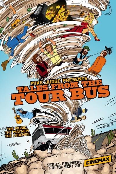 Caratula, cartel, poster o portada de Mike Judge Presents: Tales from the Tour Bus