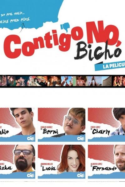 Caratula, cartel, poster o portada de Contigo no, bicho