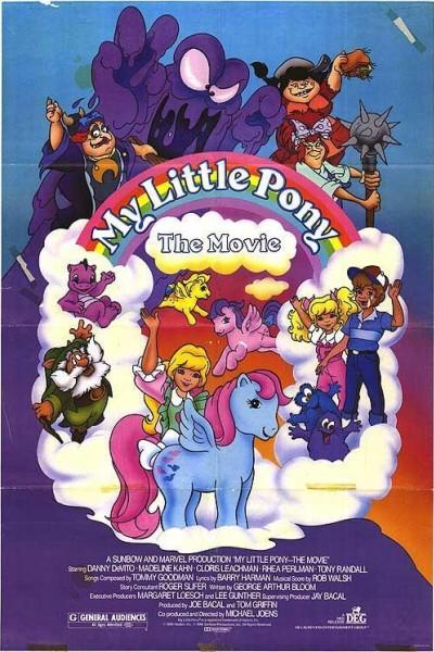 Caratula, cartel, poster o portada de Mi pequeño pony: La película