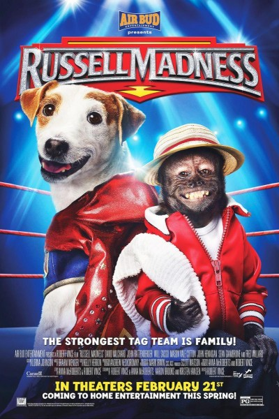 Caratula, cartel, poster o portada de Russell, el perro luchador