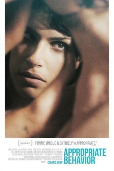 Caratula, cartel, poster o portada de Una chica de Brooklyn (Appropriate Behaviour)