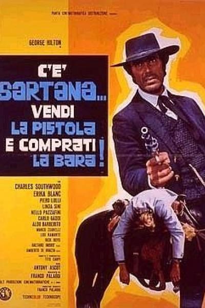 Caratula, cartel, poster o portada de Vende la pistola y cómprate la tumba (Ha llegado Sartana)