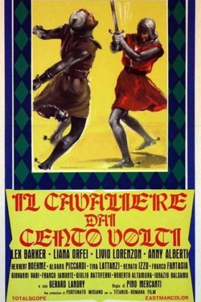 Caratula, cartel, poster o portada de El caballero de los cien rostros