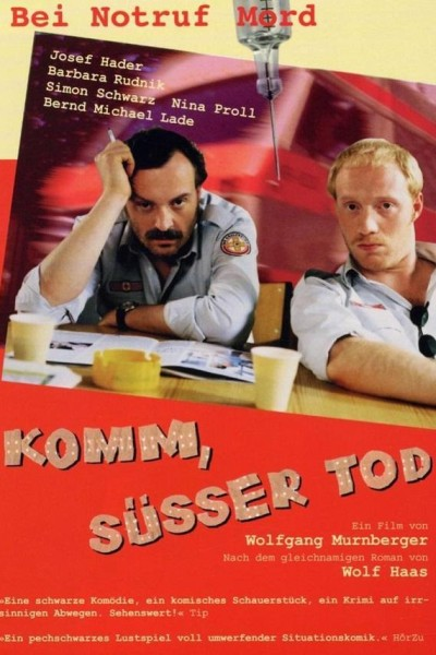 Caratula, cartel, poster o portada de Komm, süsser Tod