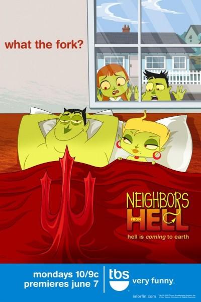 Caratula, cartel, poster o portada de Neighbors from Hell