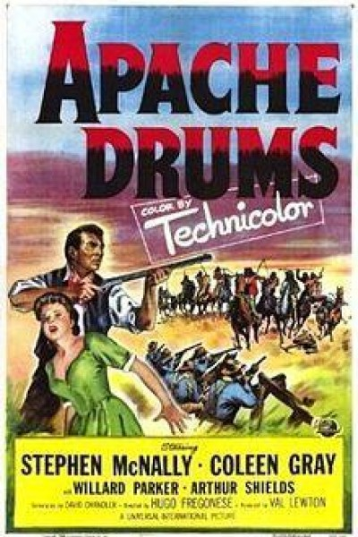 Caratula, cartel, poster o portada de Tambores apaches