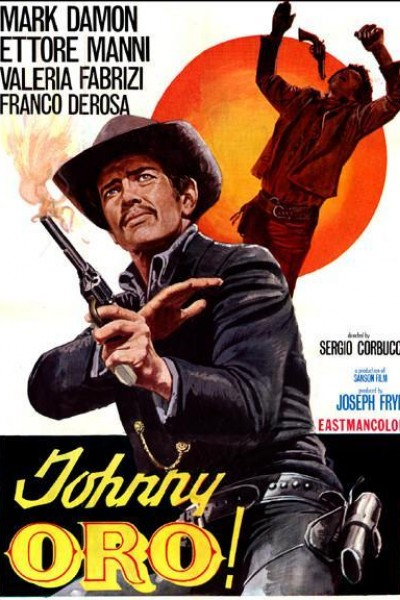 Caratula, cartel, poster o portada de Johnny Oro