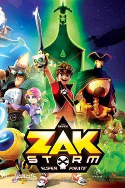 Caratula, cartel, poster o portada de Zak Storm